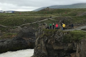 Photo from student fellowship trip to Iceland.