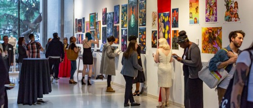 Moore's 2019 Senior Show Exhibition.