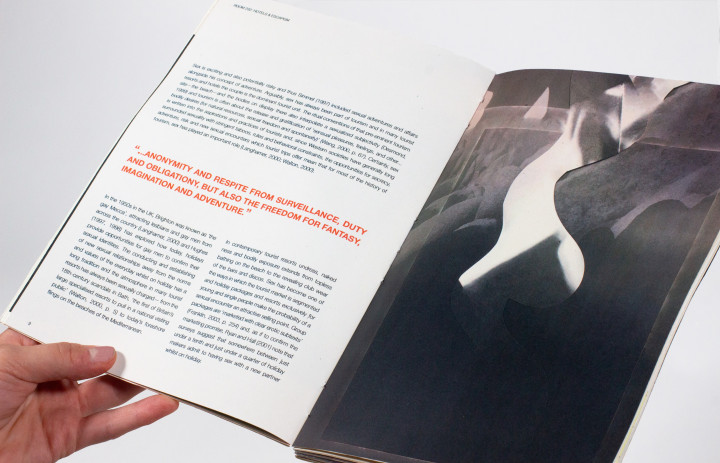 Detail photo of Christa Faas '21's thesis project publication